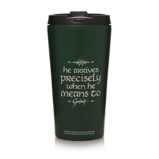 TAZA DE VIAJE METALICA THE LORD OF THE RINGS