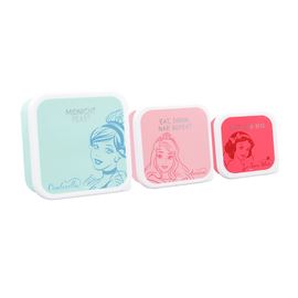FIAMBRERA SET DE 3 DISNEY PRINCESS