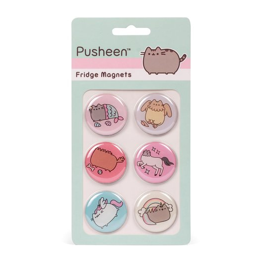 IMANES PUSHEEN SET OF 6