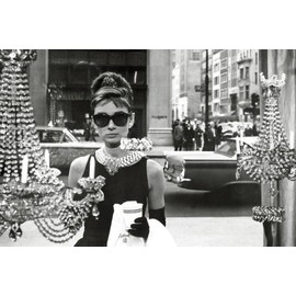 POSTER AUDREY HEPBURN- TIFFANYS WINDOW