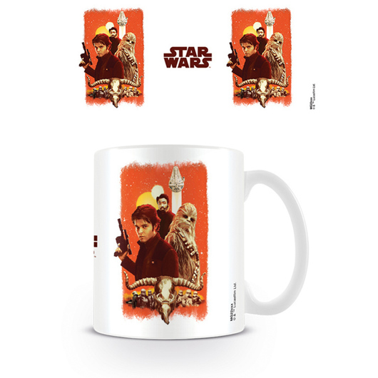 TAZA STAR WARS SOLO FRIENDS AND ENEMIES