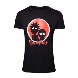 CAMISETA RICK & MORTY BIG RED LOGO S