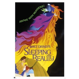 POSTER WALT DISNEY SLEEPING BEAUTY