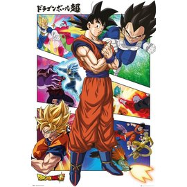 POSTER DRAGON BALL SUPER PANELS