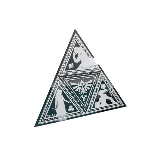 ESPEJO THE LEGEND OF ZELDA TRIFORCE