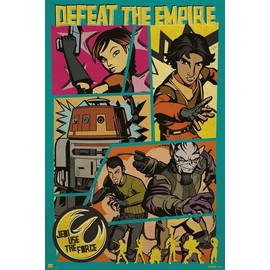 POSTER STAR WARS REBELS POP