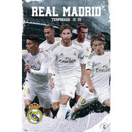 POSTER REAL MADRID 2019/2020 GRUPO ACCIÓN