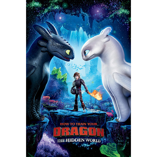 POSTER HOW TO TRAIN YOUR DRAGON 3 ONE SHEET