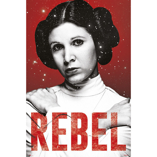 POSTER STAR WARS LEIA CLASSIC
