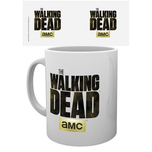 TAZA THE WALKING DEAD LOGO