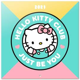 CALENDARIO 2021 30X30 HELLO KITTY