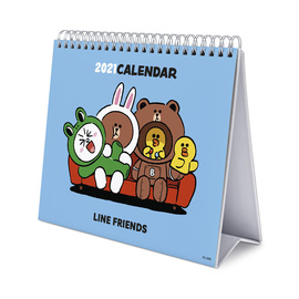 CALENDARIO DE ESCRITORIO DELUXE 2021 LINE FRIENDS