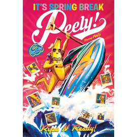 POSTER FORTNITE SPRING BRAKE PEELY