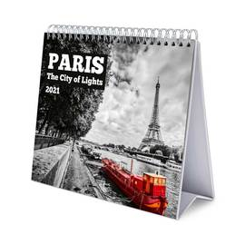 CALENDARIO DE ESCRITORIO DELUXE 2021 PARIS
