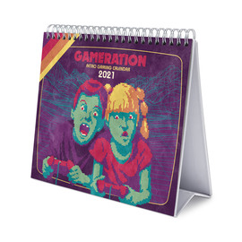 CALENDARIO DE ESCRITORIO DELUXE 2021 GAMERATION