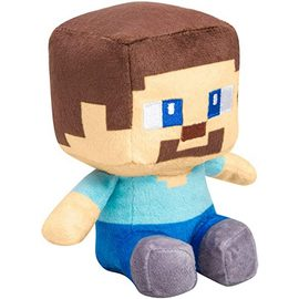 PELUCHE MINECRAFT MINI CRAFTER STEVE