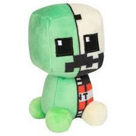 PELUCHE MINECRAFT MINI CRAFTER ANATOMIA CREEPER