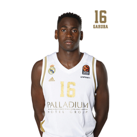 POSTAL REAL MADRID BALONCESTO 2019/2020 GARUBA