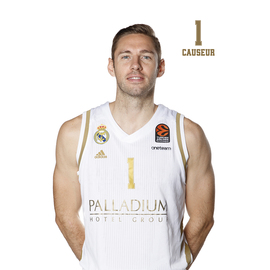 POSTAL REAL MADRID BALONCESTO 2019/2020 CAUSEUR