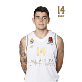 POSTAL REAL MADRID BALONCESTO 2019/2020 DECK