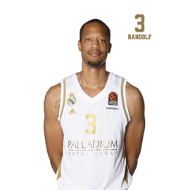POSTAL REAL MADRID BALONCESTO 2019/2020 RANDOLPH