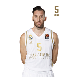 POSTAL REAL MADRID BALONCESTO 2019/2020 RUDY