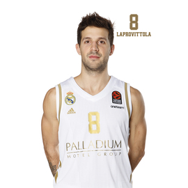 POSTAL REAL MADRID BALONCESTO 2019/2020 LAPROVITTOLA