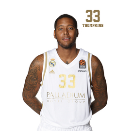 POSTAL REAL MADRID BALONCESTO 2019/2020 THOMPKINS III