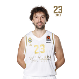 POSTAL REAL MADRID BALONCESTO 2019/2020 LLULL