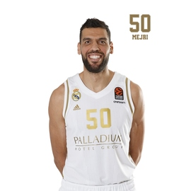 POSTAL REAL MADRID BALONCESTO 2019/2020 MEJRI