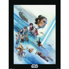 PRINT 30X40 CM STAR WARS EPISODIO IX THE RESISTANCE