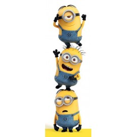 Poster Puerta Despicable Me (3 Minions)