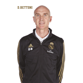 POSTAL REAL MADRID 2019/2020 DAVID BETTONI BUSTO