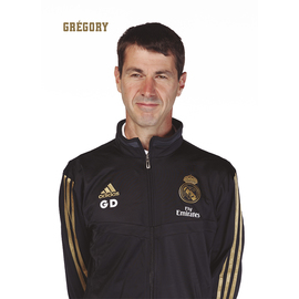POSTAL REAL MADRID 2019/2020 GREGORY DUPONT BUSTO