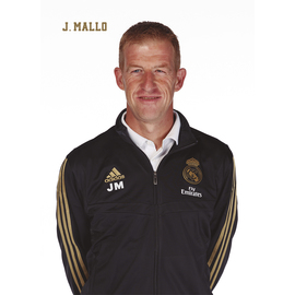 POSTAL REAL MADRID 2019/2020 JAVIER MALLO BUSTO