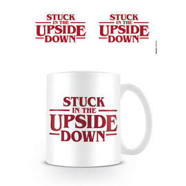 TAZA STRANGER THINGS STUCK IN THE UPSIDE DOWN