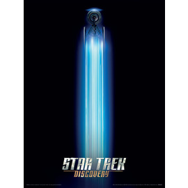 ART PRINT 30X40 STAR TREK DISCOVERY INTERNATIONAL WARP ONE SHEET