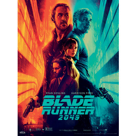 ART PRINT 30X40 BLADE RUNNER 2049 FIRE AND ICE