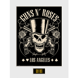 ART PRINT 30X40 GUNS N ROSES LOS ANGELES