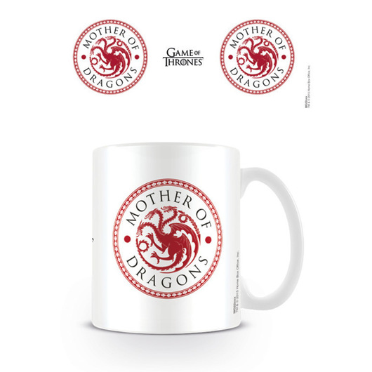 TAZA GAME OF THRONES MOTHER OF DRAGONS
