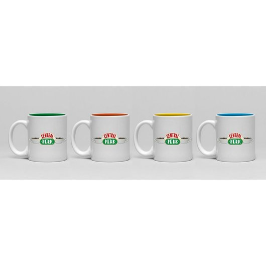 SET DE MINI TAZAS FRIENDS CENTRAL PERK