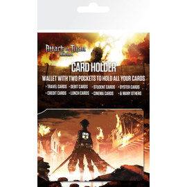 TARJETERO ATTACK ON TITAN KEY ART