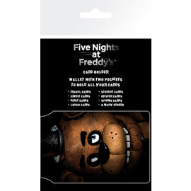 TARJETERO FIVE NIGHTS AT FREDDYS