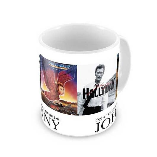 TAZA JOHNNY HALLYDAY COVERS