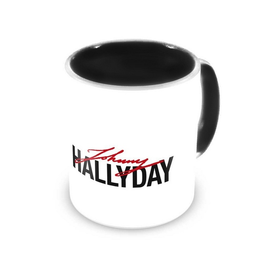 TAZA JOHNNY HALLYDAY WHITE
