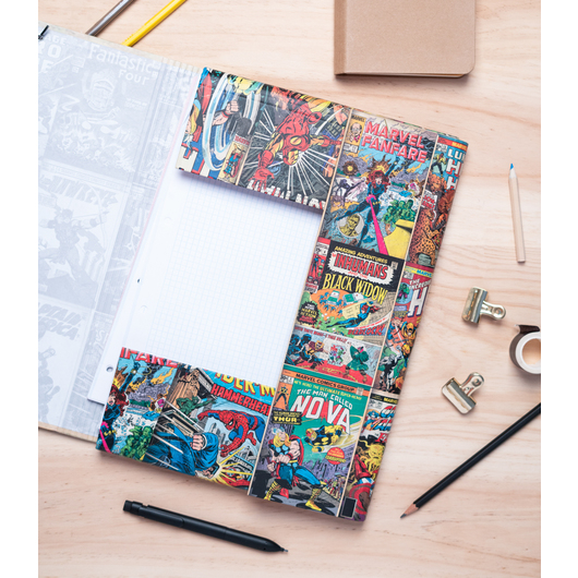 CARPETA SOLAPAS MARVEL COMICS