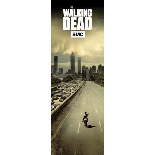 POSTER PUERTA THE WALKING DEAD CITY