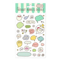 SET STICKERS THOUGHT BUBBLE B
