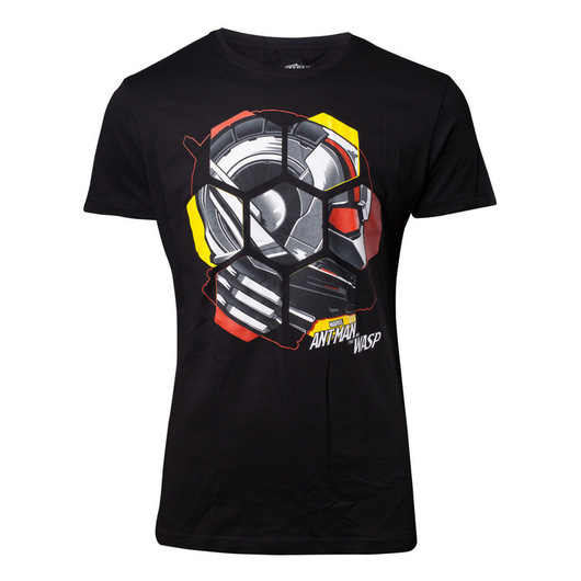 CAMISETA MARVEL ANTMAN & THE WASP HELMET S