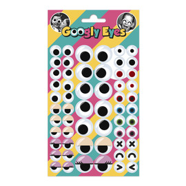 SET STICKERS GOOGLY EYES